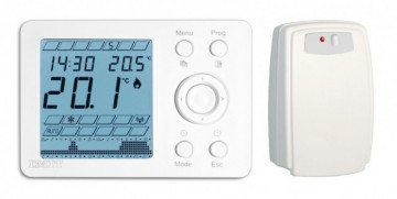 Poza Termostat de ambient digital programabil fara fir IMIT WPT R
