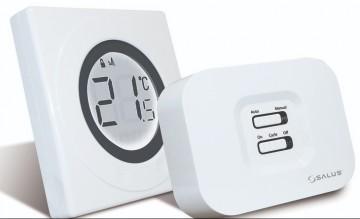 Poza Centrala termica in condensatie Ariston Matis Condens Plus 24 - 24 kw + CADOU Termostat wireless SALUS ST320RF. Poza 5047