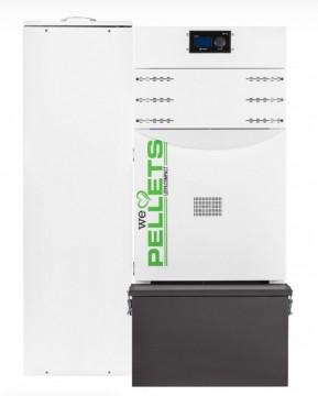 Poza Centrala termica automata pe peleti Fornello Lidya Compact Prestige 25 kw