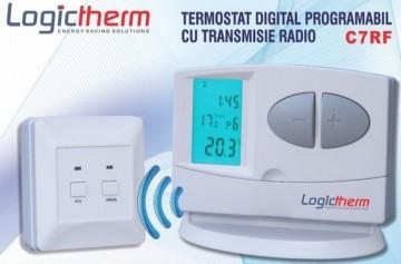 poza Termostat de ambient fara fir LOGICTHERM C7RF programabil