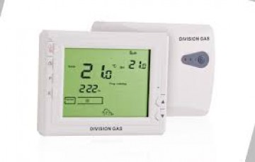 poza Termostat de ambient fara fir DIVISION GAS 908RF programabil